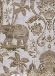 Indo Chic Wallpaper G67358 By Galerie